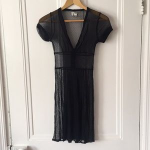 Lux Sheer Black Dress Size XS